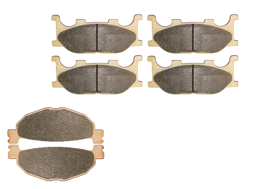 Brake Pad set fit for YAMAHA XP500 Tmax Tmax500 XP 500 S T V T-MAX 5VU1 2 2004 2005 2006 2007 / YP400 YP 400 Majesty 2005 - 2009 brake pads set for yamaha xp500 tmax500 t max500 xp 500 t max t max tmax 2008 2009 2010 2011 sv tech max abs
