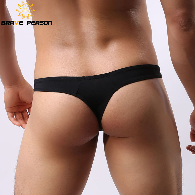 413cb98baa4f Genuine Brand BRAVE PERSON New Arrival Sexy Underwear Men's G-Strings  Thongs Men Fashion Jockstrap