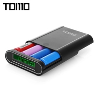 TOMO S4 DIY 4 X 18650 Li Ion Battery Smart Power Charger With 1 1A Output