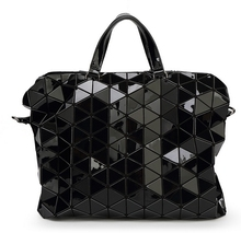 Unisex Briefcases Hot Fashion Preppy style Women's  Tote Shoulder bag for UNISEX Geometric Lattice SAME AS BAOBAO BAG