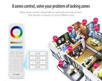 RGB RGBW Mi Light B8 FUT089 8 Zone Controler LED Controller RF Remote 2 4G Wireless