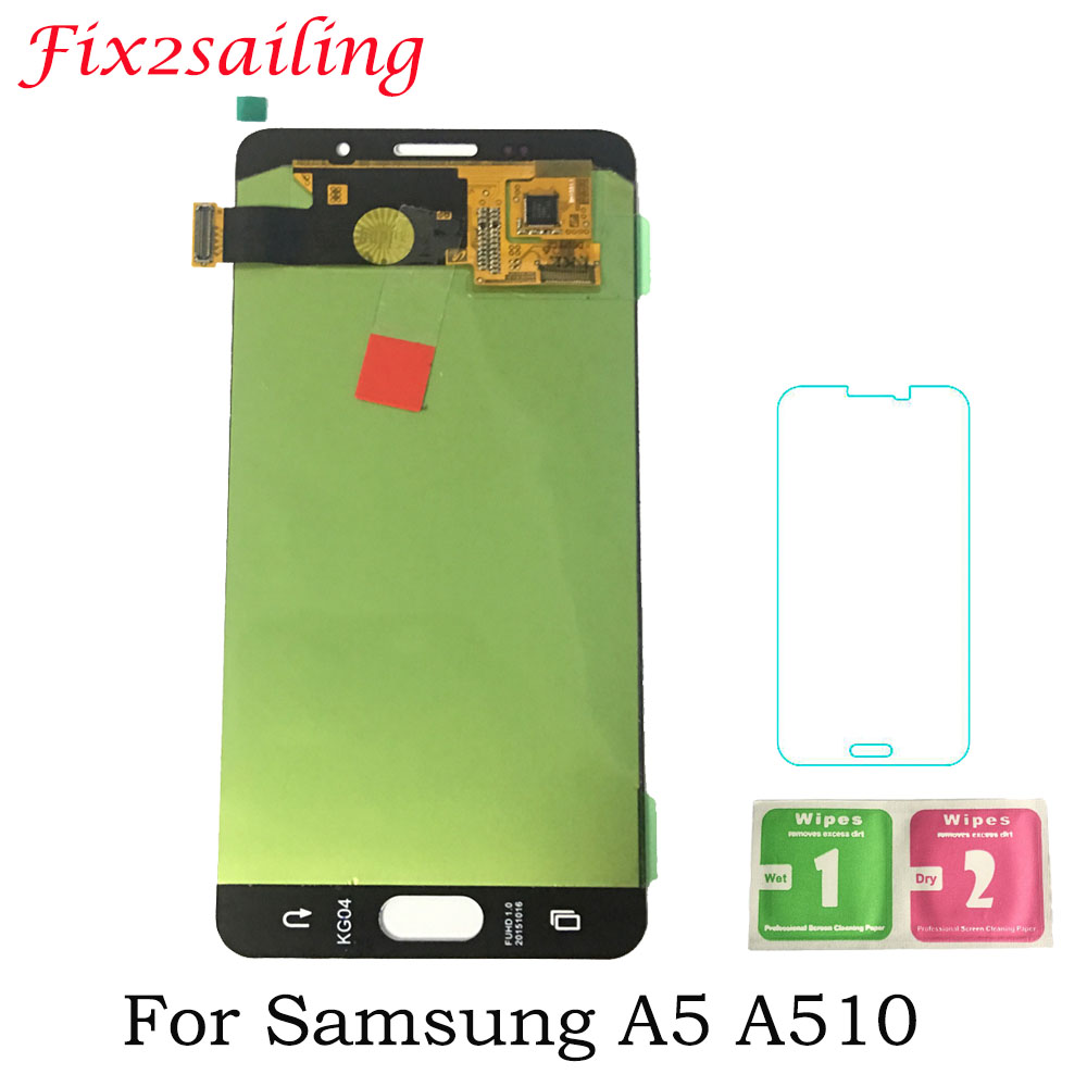 Super AMOLED LCD For Samsung Galaxy A5 2016 A510 A510F A510M A510FD LCD Display Touch Screen Assembly For Samsung Galaxy A510Super AMOLED LCD For Samsung Galaxy A5 2016 A510 A510F A510M A510FD LCD Display Touch Screen Assembly For Samsung Galaxy A510