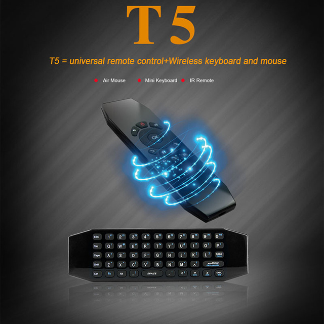 Mini Portable 2.4GHz Wireless Fly Air 2 in 1 Mouse mice Full Qwerty Keyboard for Android Smart TV Box Windows Mac Linux iOS PC