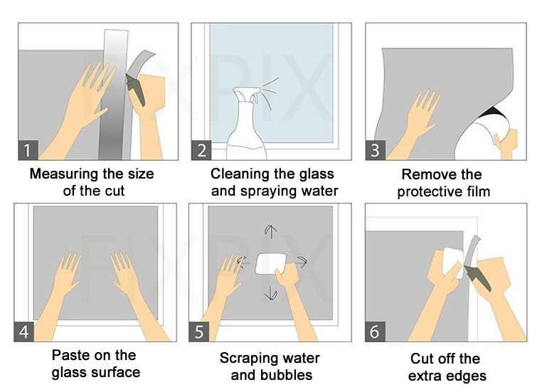 Đá quý Bạc Chống Nước Cửa Sổ Bộ Phim Một Cách Tráng Gương Bạc Cách Nhiệt Dán UV Bác Bỏ Sự Riêng Tư Cửa Sổ Tint Phim