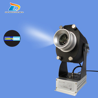 Cheap Outdoor 20W LED Rotary Image Projector Advertising Customize Company Logo Business Sign Projector With 1