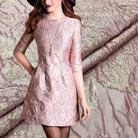 HLQON Высококачественная пряжа окрашенная Запад стиль из жаккардовой парчи используется для ткани женщины одевают одежду в стиле пэчворк
