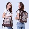2016 Британский стиль моды водонепроницаемый wetbag пеленки мешок Большой емкости многофункциональный материнства мама сумка Детские Коляски Сумку