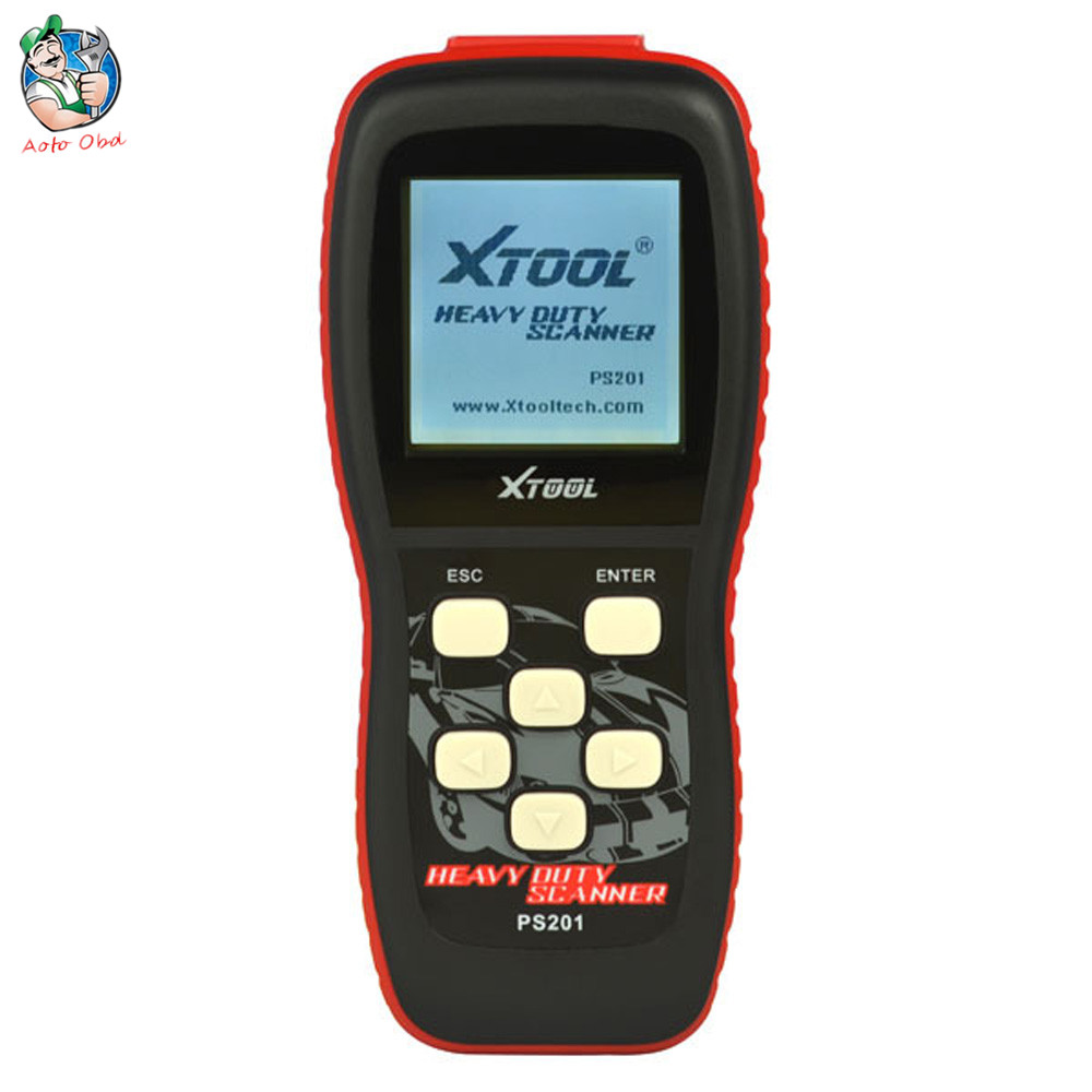 100% Original Xtool PS201 Heavy Duty Code Reader Diesel Test PS201 OBDII Scanner
