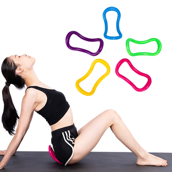 2019 Gym Yoga Circle Equipment Multifunction Yoga Ring Pilates Workout Fitness Circle Training Bodybuilding Stretching exercises