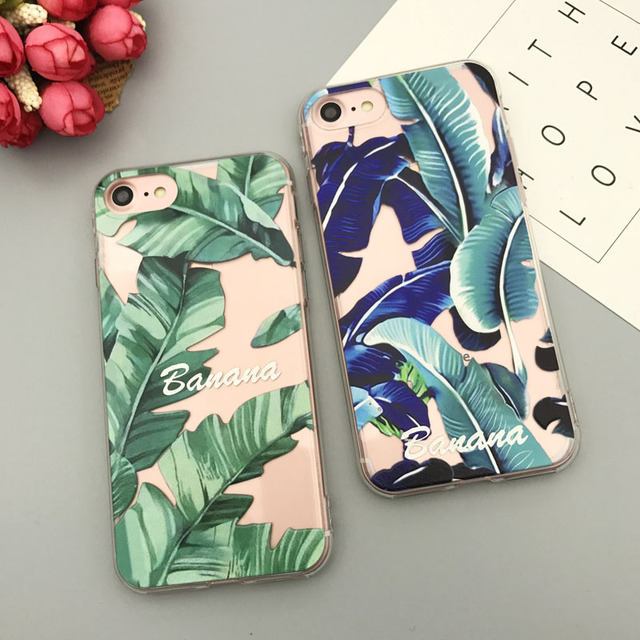 coque iphone 8 feuille