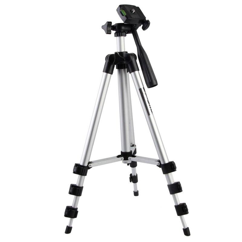 Alloet Brand New Video Treppiede Universale Mount Fotocamera Digitale Videocamera Treppiede Per Nikon Canon Panas di Alta Qualità