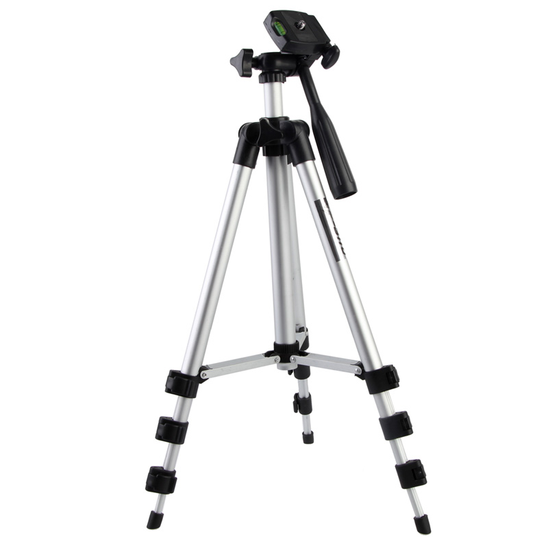 Alloet Brand New Video Tripod Universal Digital Camera Mount Camcorder Tripod Stand For Nikon Canon Panas High Quality