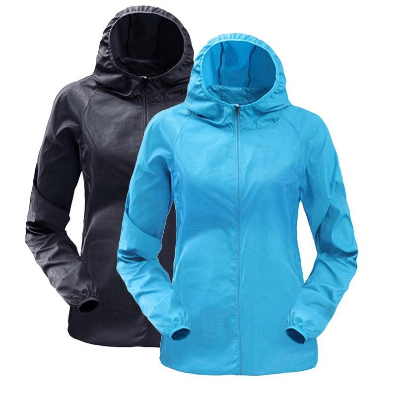 CALOFE Jacket Sunscreen-Clothes Raincoat Windbreaker Rashguard Sports Women's Woman Thin