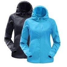 CALOFE унисекс Солнцезащитная одежда мужская и женская тонкая спортивная ветровка, плащ и непромокаемая куртка Рашгард для мужчин и женщин