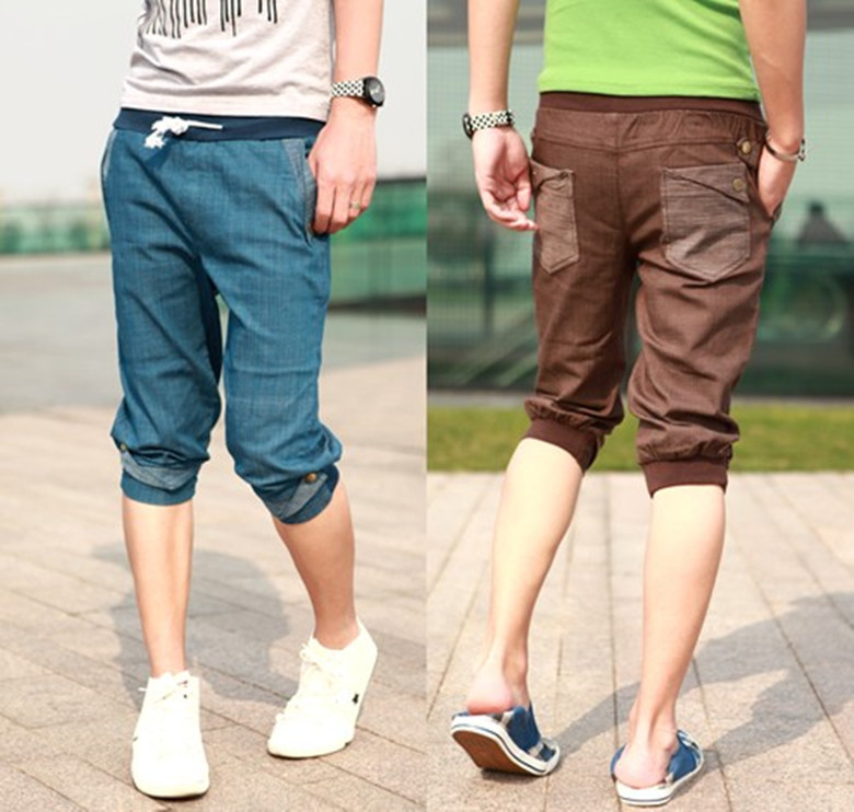 NEW Men Women Unisex Casual Atheletic Sporty Baggy Harem shorts ...