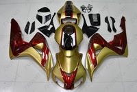 Motorcycle Fairing CBR1000RR 2008 2011 Gold Red Full Body Kits for Honda Cbr1000 RR 08 09 Full Body Kits CBR1000RR 08 09