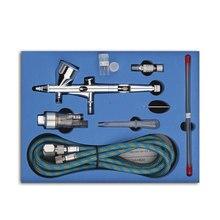 Action краской компрессор аэрограф торт ремесло искусства dual воздуха пистолет pro