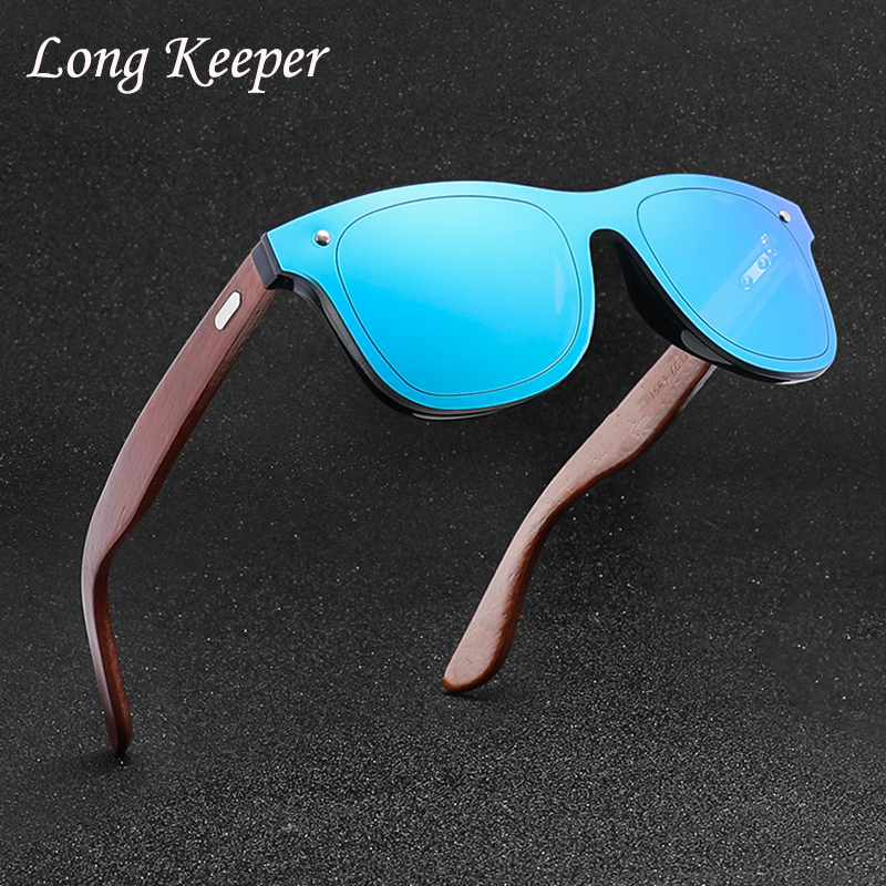 159229cf7e LongKeeper Retro Vintage Wooden Sunglasses Men Women 2019 Fashion Trend  Outdoor Personality Sun glasses lunettes de soleil homme-in Sunglasses from  Apparel ...