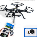 HQ899 2.4G WiFi Real Time Video andRC Quadcopter Drone Helicopter With 5.0MP HD Wifi FPV