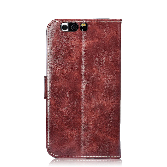 TUKE Huawei P10 Plus Case Luxury Flip Silicone Cover Oil Wax Leather Case For Huawei P10plus VKY-L09 VKY-L29 Wallet Phone Cases