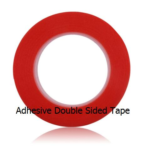 Super strong adhesive double-sided PET tape 1 2 <font><b>3</b></font> 5 6 <font><b>8</b></font> 10 12 15 16 <font><b>17</b></font> 18mm <font><b>x</b></font> 5M Adhesive Tape Sticker For Phone LCD Screen