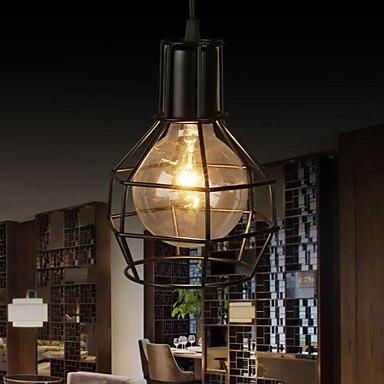 Retro Loft Style Industrial Vintage Lamp Pendant Light Fixtures,Lustre Para Sala