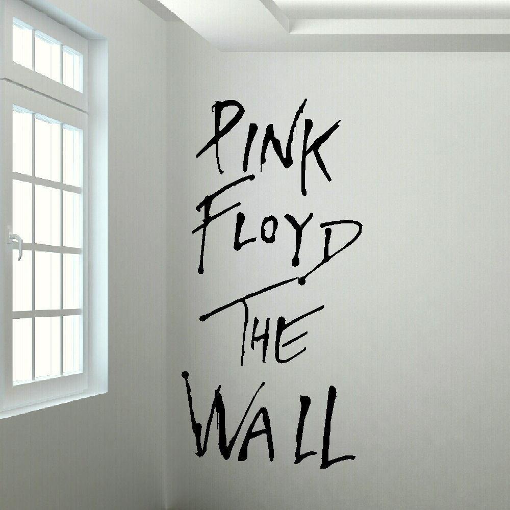 Wall stickers extra - Zn C072 Large Pink Floyd The Wall Mural Art Sticker Decal Cut Matt Vinyl Wall Decal