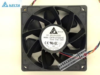 for delta QFR1212GHE 12V 2.70A 12038 12CM Bitcoin Miner FAN 12cm PWM Most Powerful for Bitcoin Mining prypto bitcoin for dummies isbn 9781119076414