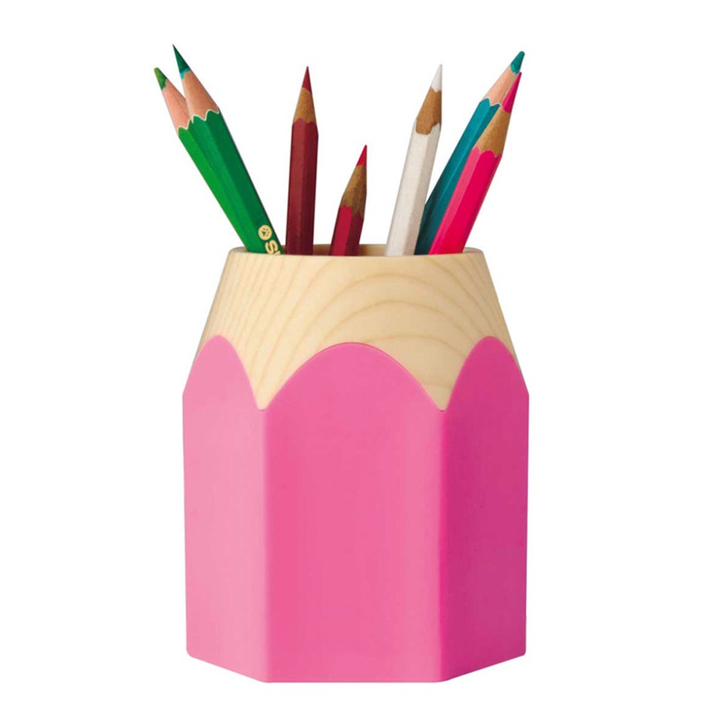 Online Shop Plastic Pen Holder Cup Stand Pencil Stub Pot Holder Container  for Pens,Utensils,Office Supplies Caddy,Cosmetic Brush Organizers    Aliexpress ...