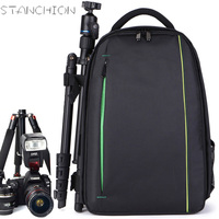 STANCHION Professional SLR Camera Backpack Photography Men And Women Travel Anti Theft Waterproof Computer Bag