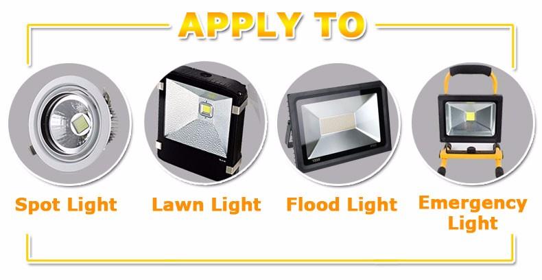 COB LED Lamp Chip 10W 15W W 30W 50W LED COB Bulb Lamp 2V IP65 Smart IC Driver Cold/ Warm White LED Spotlight Floodlight 11