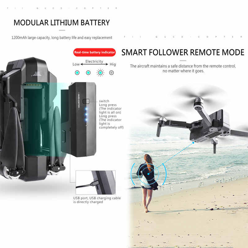 SJRC F11 プロ Gps ドローンと Wifi FPV 1080 1080P/2 18K HD カメラ F11 ブラシレス Quadcopter 25 分飛行時間折りたたみ Dron Vs SG906
