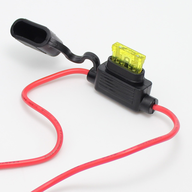 20sets 20 amp ATO Blade In Line Fuse Holder / waterproof Fuse holder ...