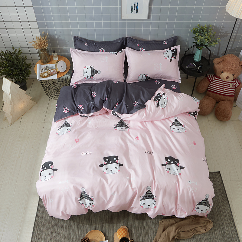 Cartoon Characters Snowman 3 4pcs Bedding Set Quilt Sheets Pillowcase Bed Good Quality Best Ing Sets