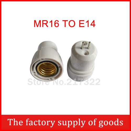 Mr16 To E14 Adapter High Quality Material Fireproof Material Socket Adapter Free Shopping
