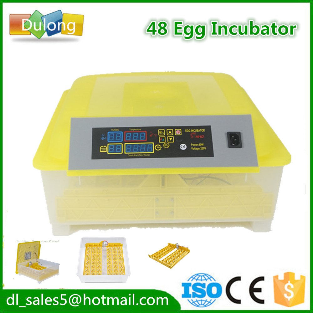 automatic egg incubator 48 eggs  small household machine CE proved with 110V/220V tonze electric mini multi egg boilers of 5 eggs 350w automatic power off household breakfast machine cute steam cooker