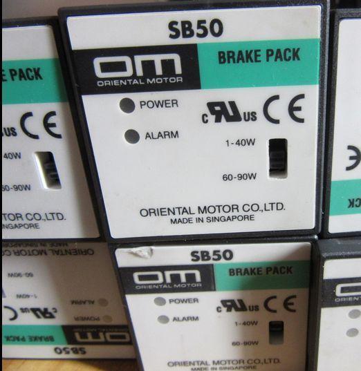 OM Japanese Oriental Motor governor SB50 1-40W 60-90W