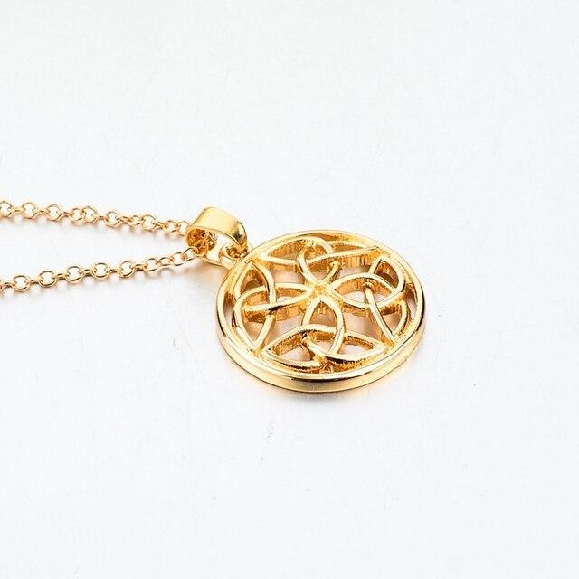 chicvie золотое длинное ожерелье из смолы для женщин аксессуары фотография