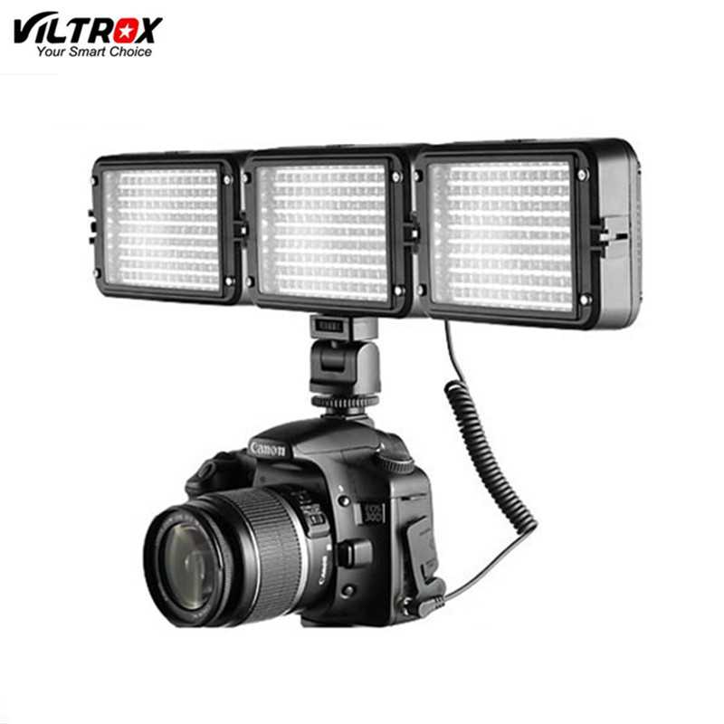 New arrival Viltrox LL-126VT LED Adjustable Brightness flashing led 4.5W for digital video camcorders cameras фотографическое освещение viltrox ll 126vt led 4 5w