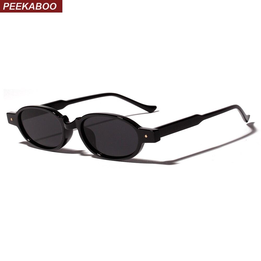 fcb1f2967faef Peekaboo leopardo retro rebite óculos de sol das mulheres pequeno quadro  ultra light 2019 verão moda oval óculos de sol unisex masculino presente