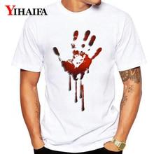 Summer Short Sleeve T-Shirt Men Women 3D Print Hand Painted Graphic Tees Halloween Casual White Tee Shirts Unisex Tops