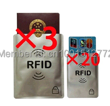 цена на Anti Scan RFID Blocking Sleeve for Credit Card and passport to Secure your Identity ATM Debit Contactless ID Protector Holder