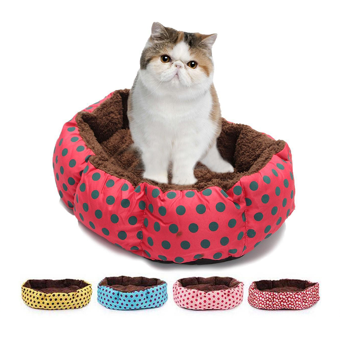 1Pc Pet Bed Couch Lovely Comfortable Cat Dog Bed Cushion Pad Sofa Mat Indoor Puppy dogs kennel dog house soft pet bed for dogs ...