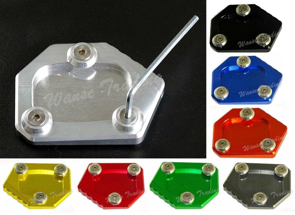 Распродажа подножка боковая подставка удлинитель опорная пластина для HONDA CB400 2002 2003 2004 2005 2006 2007 2008 2009 2010-2015