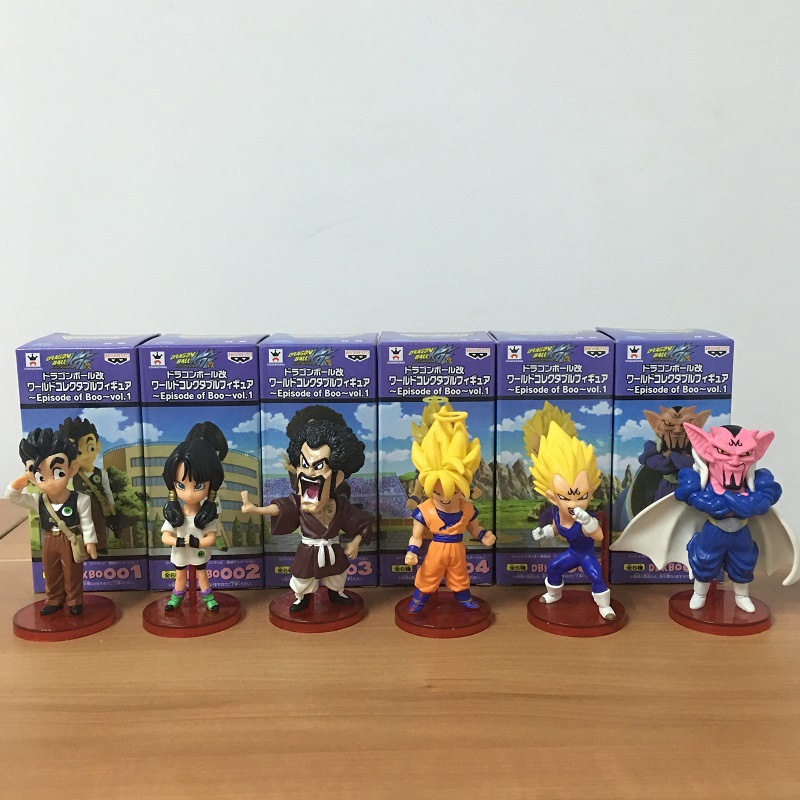 10CM PVC Dragon Ball Action Figure Kakarotto Vegeta Son Gohan Furnishing Articles Model Holiday Gifts Ornament Children's Toys