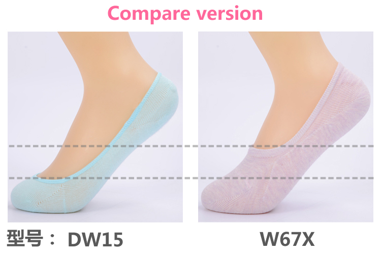 5 paari madalaid sokke naistele