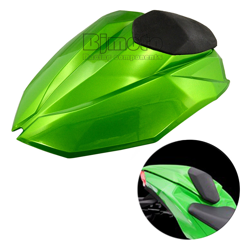 ФОТО Motorcycle Rear Seat Cover Cowl Solo Motor Seat Cowl Rear Fairing Set For Kawasaki Z800 2012 2013 2014 2015