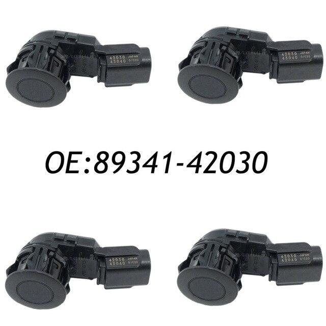 4PCS 89341-42030 43040 PDC Parking Sensor Fits Toyota Bumper Backup Aid Reverse