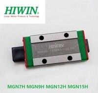 2/4 pçs/lote Hiwin Originais blocos MGN7H MGN9H MGN12H MGN15H