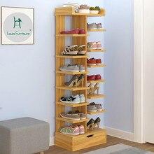 Louis Модная обувь шкафы простые бытовой экономичный пыленепроницаемый многоэтажного пространства двери шкаф большой Ёмкость для хранения